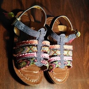 Sam Edelman Gigi Nancy Blue Sandals US 12